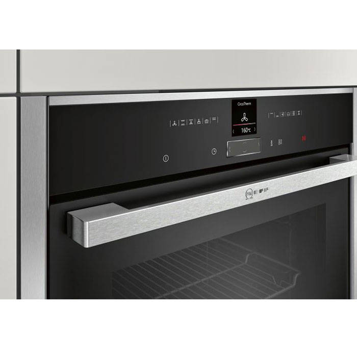 Neff B17CR32N1B Circo Therm Built In Single Oven with Shift Controls