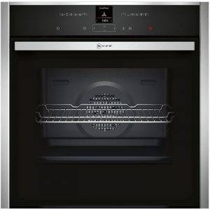 Neff B27CR22N1B Single MultiFunction Pyrolytic Oven with Shift controls