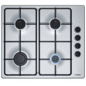 Bosch PBP6B5B80 Gas Hob with 4 Burners and side controls