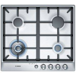 Bosch PCH615M90E Exxcel 60cm wide Gas Hob with Front Controls