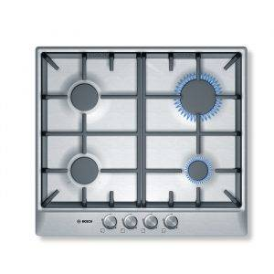 Bosch PCP615B90B Avantixx 60cm Gas Hob with Cast Iron Supports