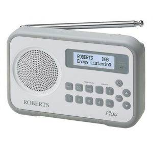 Roberts Radio PLAYDAB DAB Digital Radio with built-in battery charger