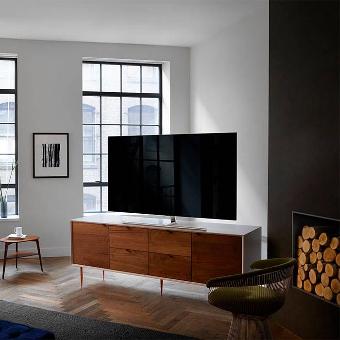 Samsung QE55Q7FAM 55 Inch Qled 4K UHD HDR Flat Led TV