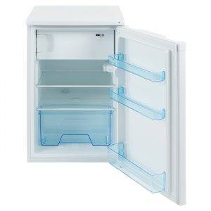 LEC R5010W 50cm Under Counter Fridge with icebox