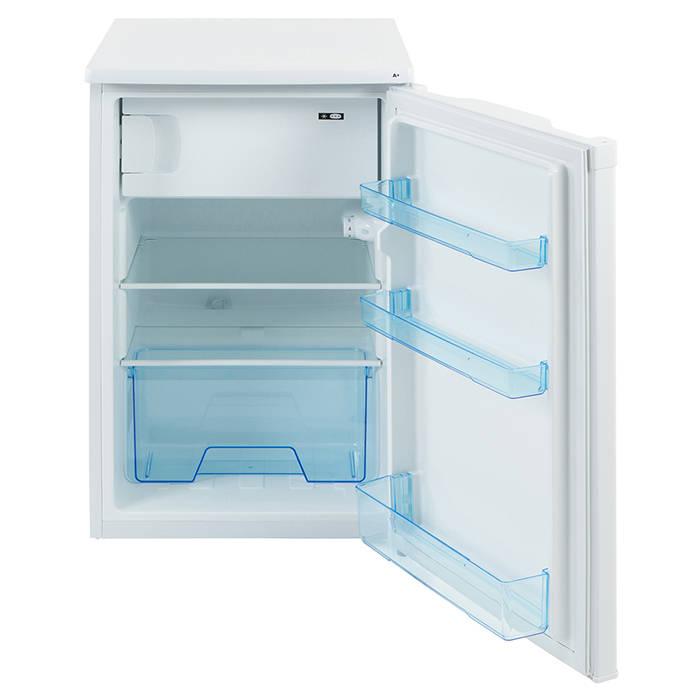 lec r5010w 50cm under counter fridge with icebox gerald. Black Bedroom Furniture Sets. Home Design Ideas