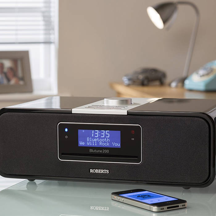 Canopy Radio System : Roberts radio blutune dab fm cd bluetooth stereo system