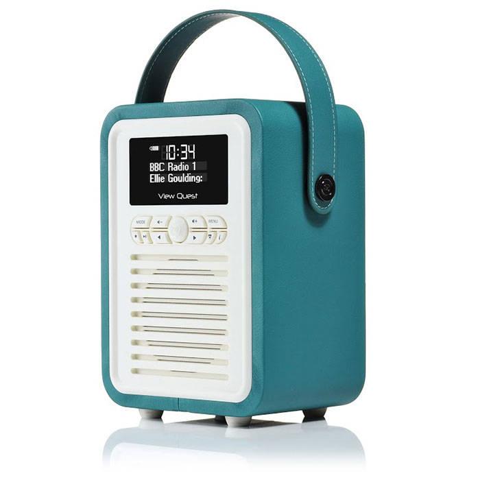 View Quest Retro Mini Tl Retro Mini Dabdabfm Radio With