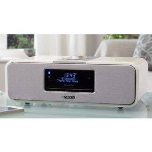 Roberts Radio BLUTUNE200W DAB/FM/CD Bluetooth Stereo System High Gloss White