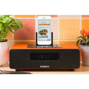 Roberts Radio BLUTUNE65O DAB/DAB+/FM Bluetooth sound system with dock for iPod, iPhone and iPad