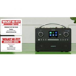 Roberts Radio STREAM93I Internet Radio with Music Player, Spotify Connect and DAB