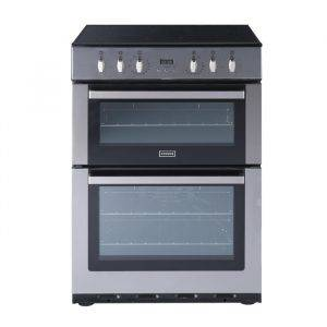 Stoves SEC60DOPSS Double Oven Electric Cooker S/S