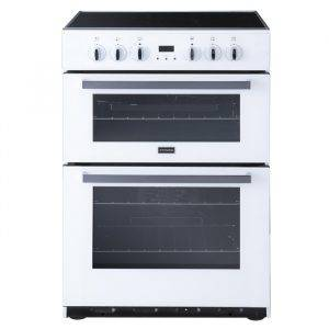 Stoves SEC60DOPW Double Oven Electric Cooker