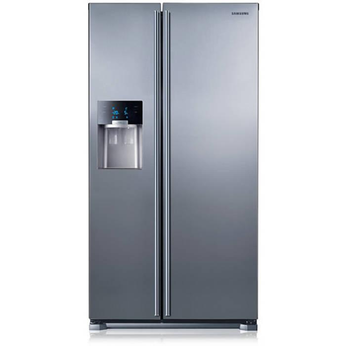 samsung rs7567bhcsl side by side frost free fridge freezer. Black Bedroom Furniture Sets. Home Design Ideas