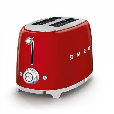 Smeg TSF01RDUK Two Slice Toaster