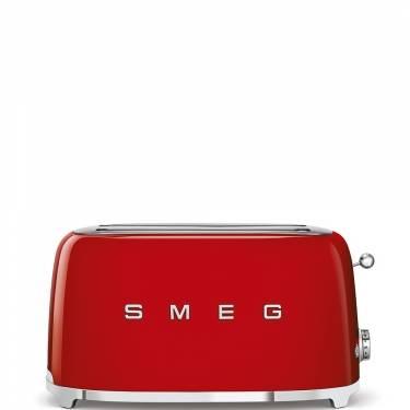 Smeg TSF02RDUK Four Slice Toaster