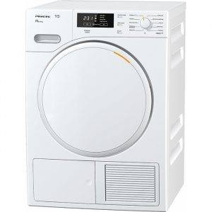 Miele TMB140WP T1 7Kg Heat Pump Tumble Dryer With perfect Dry - White Design