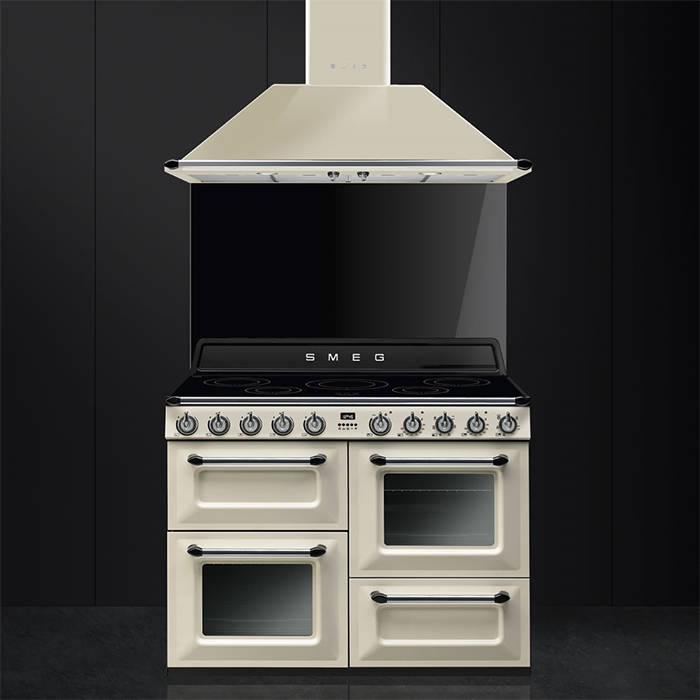 Smeg TR4110IP 110cm Victoria Traditional Range Cooker