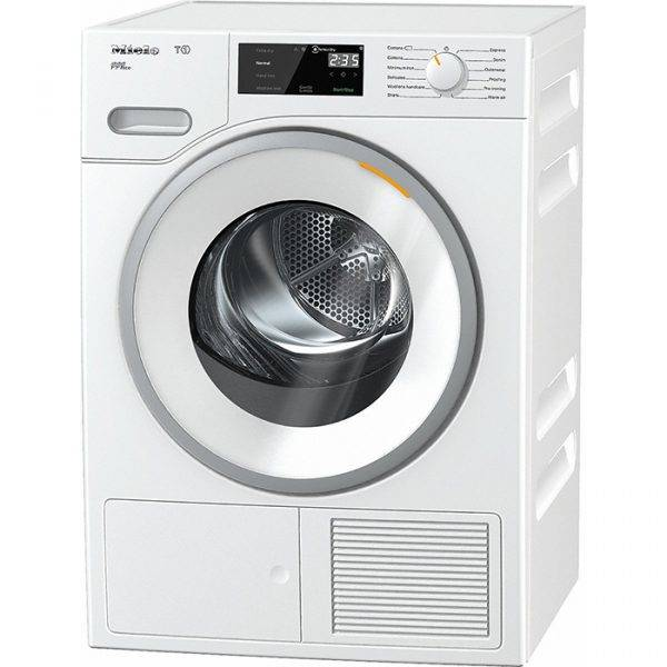 Miele TWF620WP T1 White Edition 8Kg Heat Pump Tumble Dryer