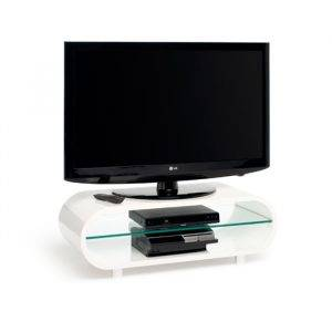 TechLink OV95W Ovid High Gloss Retro Tv Stand