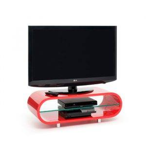 TechLink OV95R Ovid High Gloss Retro Tv Stand