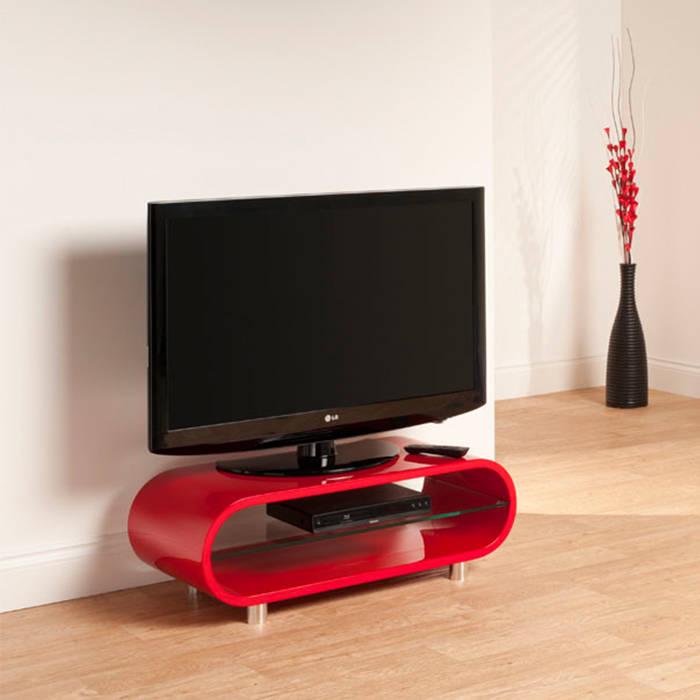 Techlink Ov95r Ovid High Gloss Retro Tv Stand Gerald Giles