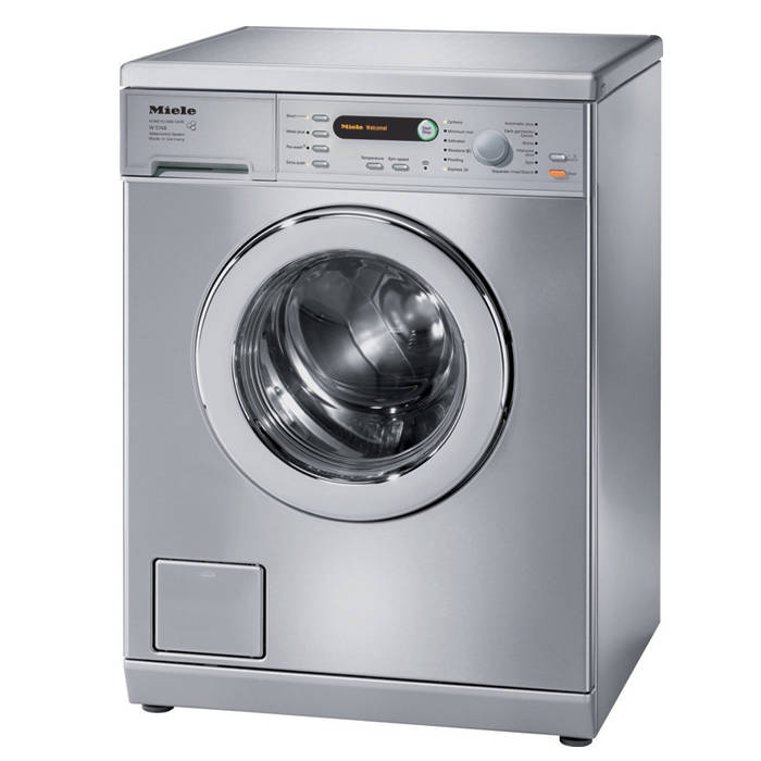 Miele Washing Machine >> Miele W5748ss 7kg Washing Machine Spin 1400 Stainless Steel