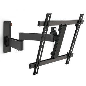 "Vogels WALL2245 32-55"" Dual Arm Turn 180 Degrees, Tilts Up To 20 Degrees Vertical, 400x400mm Max VESA"