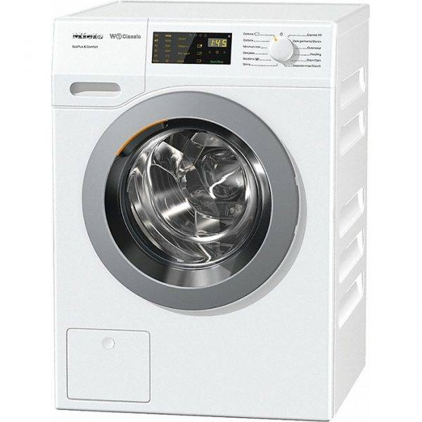 Miele WDD030 W1 Classic 8Kg 1400 Spin Washing Machine With Slanted Fascia