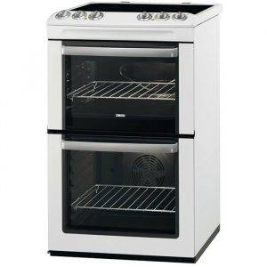 Zanussi ZCV554MW Electric Double Oven Cooker