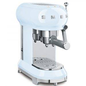 Smeg ECF01PBUK Espressco Coffee Machine 50's Retro Style
