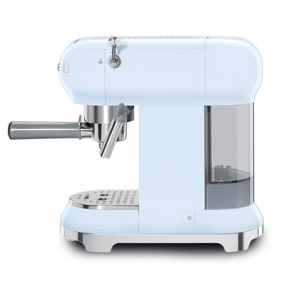 Smeg ECF01PBUK Espressco Coffee Machine 50's Retro Style