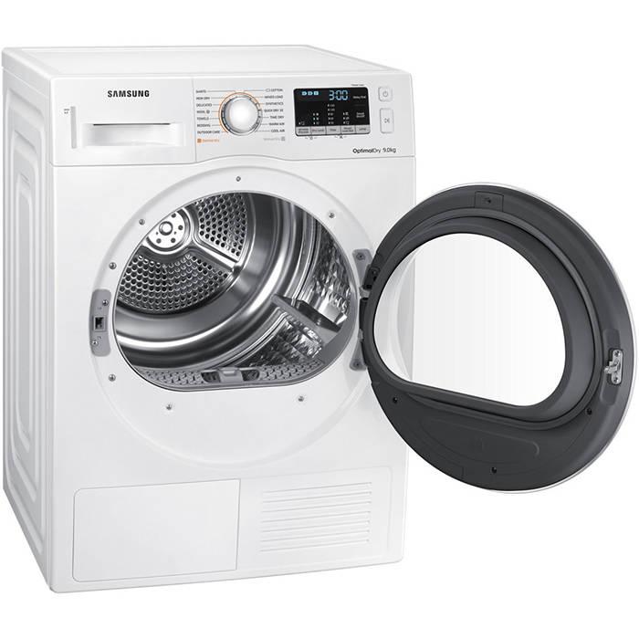 Tumble Dryer Temperature ~ Samsung dv m w kg heat pump tumble dryer gerald giles