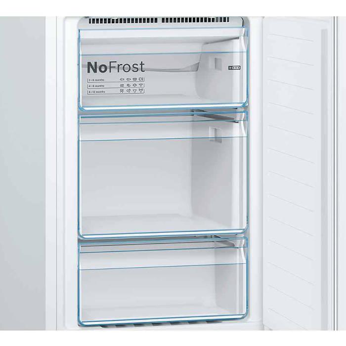 bosch kgn34nw3ag frost free fridge freezer 60cm gerald giles. Black Bedroom Furniture Sets. Home Design Ideas