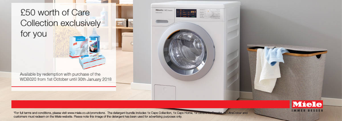 Miele Care Collection savings on WDB020 Norwich