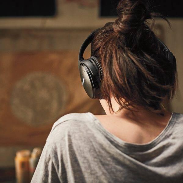 Bose QC35 QuietComfort 35 Wireless Headphones Series II Black