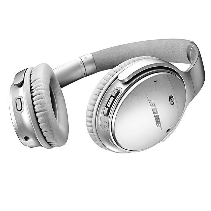 Bose QC35 QuietComfort 35 Wireless Headphones Series II Silver