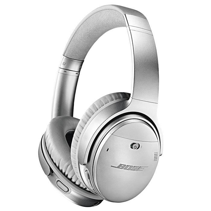 3ce3ccbdfaa Bose QC35 QuietComfort 35 Wireless Headphones Series II Silver - Gerald  Giles