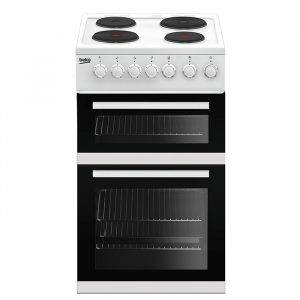 Beko EDP503W 50cm Electric Cooker with Hotplate Electric Hob