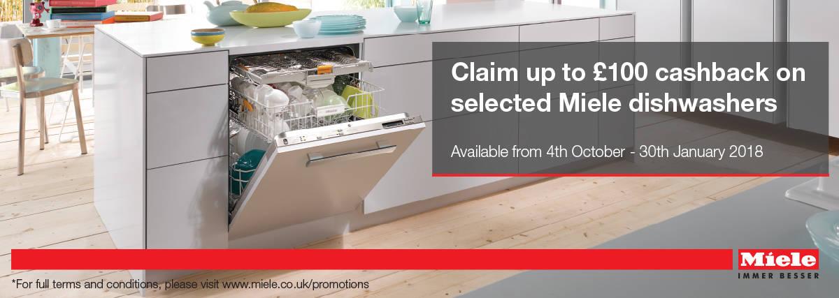 Miele Dishwashers_£100 Cashback Norwich