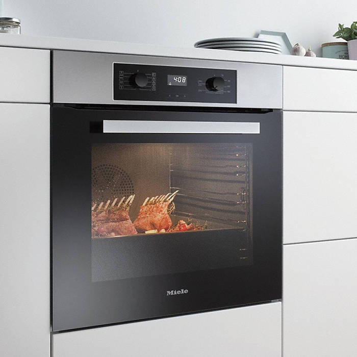 miele h2265b active single built in oven with easycontrol. Black Bedroom Furniture Sets. Home Design Ideas