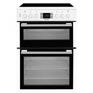 Blomberg HKN63W Double Oven Electric Cooker with Ceramic Hob 60cm
