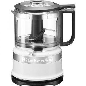 KitchenAid 5KFC3516BWH Classic Mini Food Processor in White