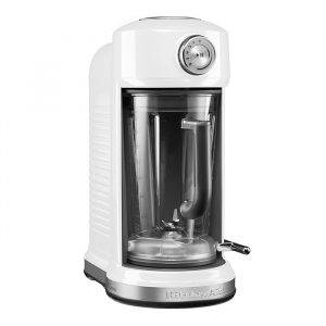 KitchenAid 5KSB5075BWH Classic Magnetic Drive Blender in White