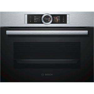 Bosch CSG656BS1B Compact Steam Oven with 4D Hotair