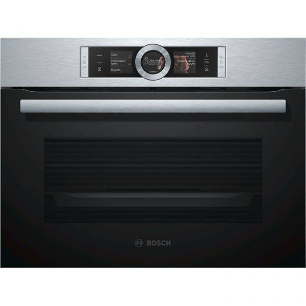 Bosch CSG656BS1B Compact Steam Oven with 4D Hotair