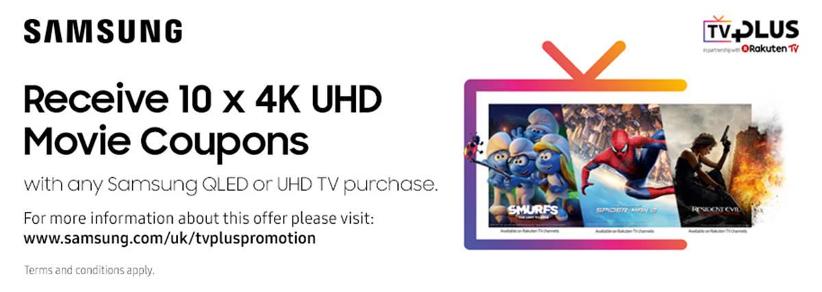 Free UHD Movies with Samsung TVs
