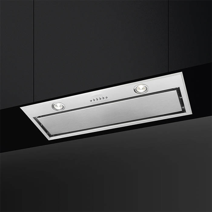 Smeg KSEG78PXE Canopy Hood with 3 speeds plus intensive