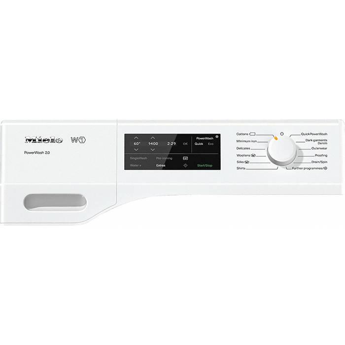 miele wce330 pwash 2 0 washing machine 8kg with capdos. Black Bedroom Furniture Sets. Home Design Ideas