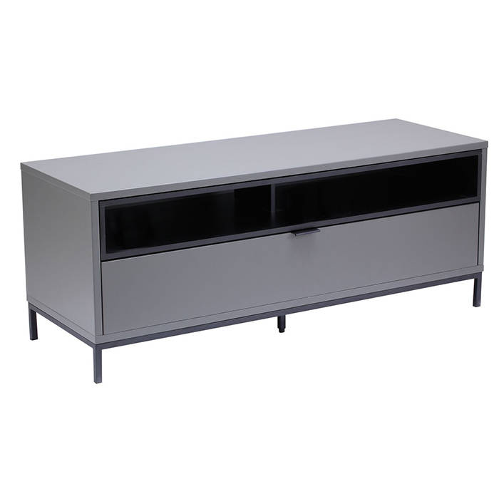 Alphason Designs ADCH1135CH Chaplin TV Cabinet for up to 52 inch screens 1135mm Charcoal