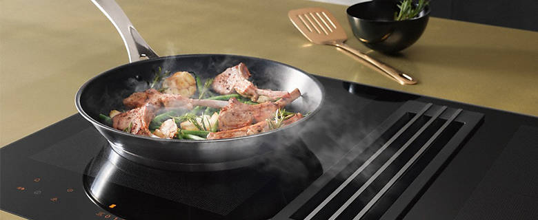 Review: Miele KMDA 7774 FL induction hob with integrated extractor